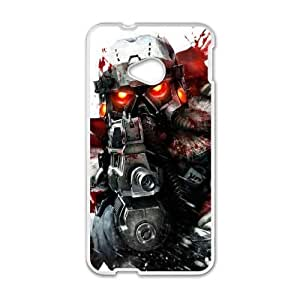 Generic Design Back Case Cover HTC One M7 Cell Phone Case White igry killzone Dwngk Plastic Cases
