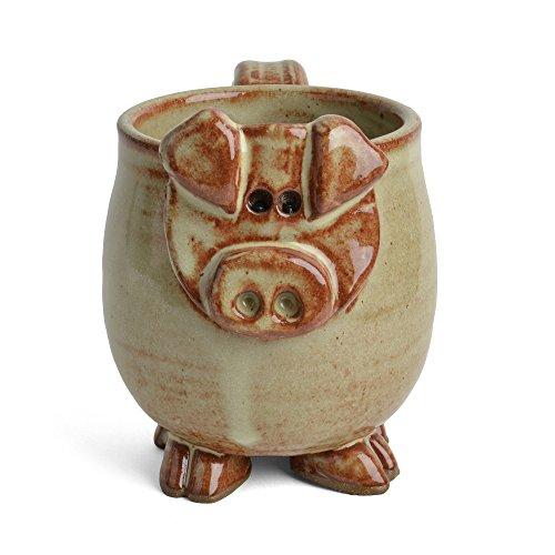 (MudWorks Pottery Petunia the Pig Mug)