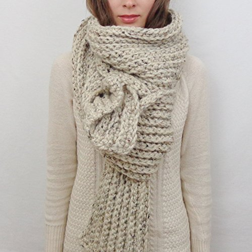 Giant Knit Scarf (Choose your Color)