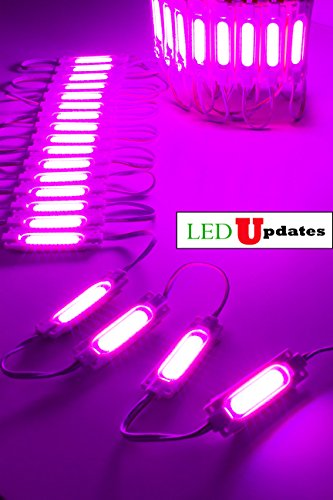 LEDUPDATES BRIGHTEST STORE FRONT WINDOW LED LIGHT COB Series with UL POWER SUPPLY BRIGHTER THAN 5050 5630 5730 2835 (20ft, (5730 Series)