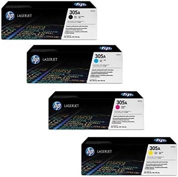 Hp Laserjet Pro 400 Color M451dn Toner Kartusche Set Oem Schwarz Cyan Magenta Gelb Bürobedarf Schreibwaren