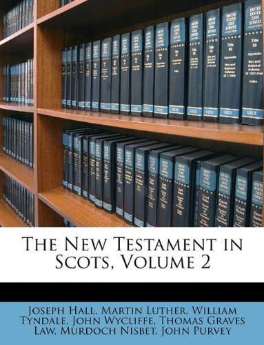 The New Testament in Scots, Volume 2 pdf epub