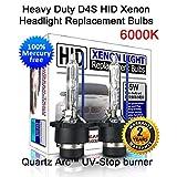 Heavy Duty D4S D4R HID Xenon Headlight Replacement Bulbs 35W Non-Mercury High Low