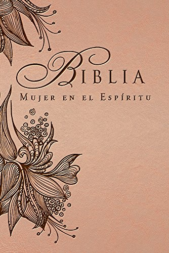 Biblia Mujer en el Espiritu (Rosa Tostado): Reina-Valera 1960  [Casa Creacion] (Tapa Dura)