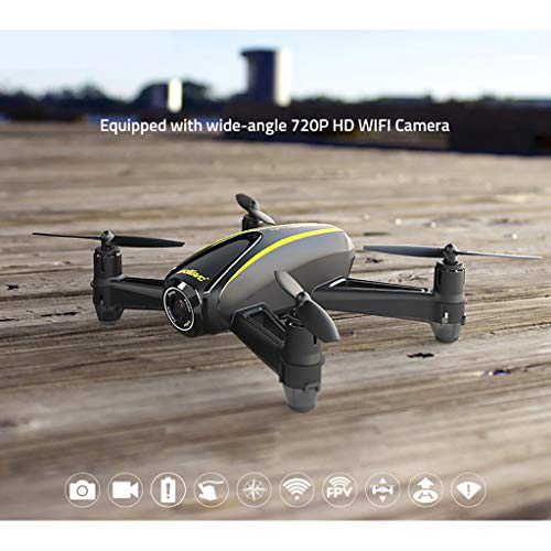 Little Story  Foldable Drone, UDI Drone HD Camera 1280 x 720P U31W Quadcopter with Altitude Hold Headless Mode
