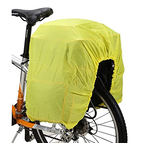 COTEetCI Bicycle Trunk Bag Rain Cover-Green