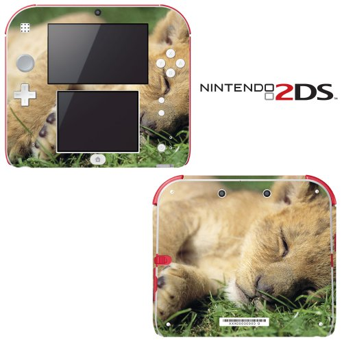 Sleeping Baby Lion Cub Decorative Video Game Decal Cover ...