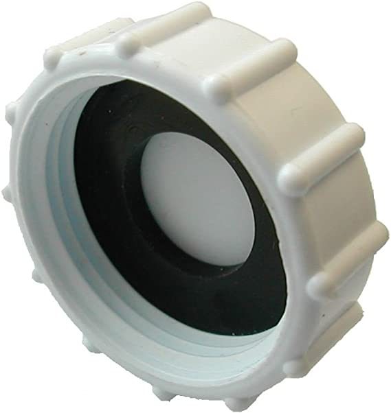spigot cap end stop for washing machine//dishwasher sink trap to blank off inlet