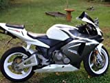 Black with White Complete Fairing Bodywork Painted ABS plastic Injection Molding Kit w/ tank cover for 2003-2004 Honda CBR 600 RR CBR600RR 600RR F5