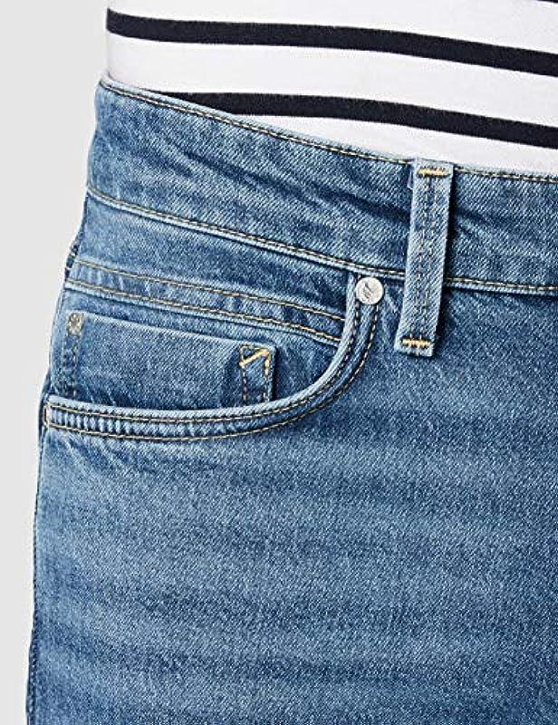dżins, 5 kieszeni, slim fit, slim fit.: Odzież