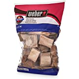 Weber Hickory Wood Chunks, 350 cu. in. (0.006 cubic meter)