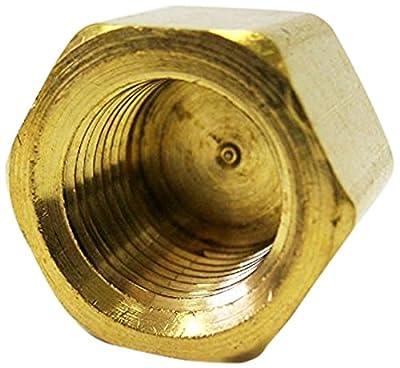 """MettleAir 1/8"""" NPT Female Brass Pipe Cap/End/Plug"""