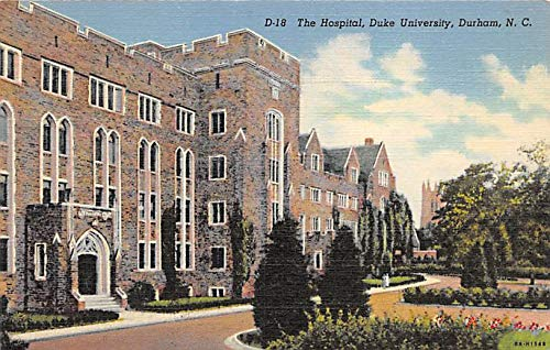 The Hospital, Duke University, Durham, NC, USA The Duke University, Durham, NC, USA PU Unknown