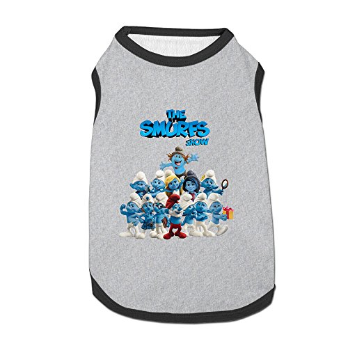 Smurfs Latest Puppy Dog Clothes Sweaters Shirt Hoodie (Smurfs 2 Adult Hackus Costumes)