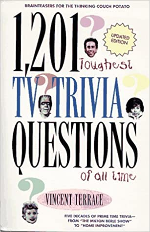 Buy 1, 201 Toughest TV Trivia Questions of All Time Book Online at