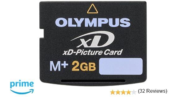 Olympus xD-Picture Card Type My - Tarjeta de Memoria (2 GB, 3.3V, 2g, 20 x 25 x 1,7 mm), Color Negro