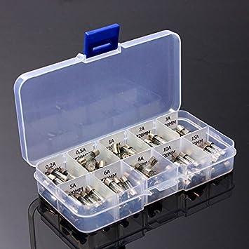Automotive verre fusibles 30 mm 50 Amp Automotive Pack de 100