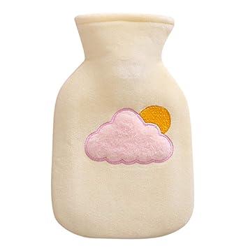 Amazon.com: Transer - Botella de agua caliente, bonita funda ...