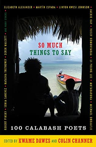 book cover of So Much Things to Say
