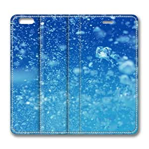 Air In Water Standing Leather Smart Cover Case Exclusive for iPad Air Screen