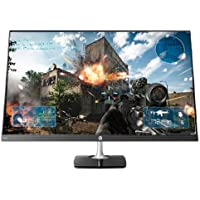 HP N270h 27 Full HD Gaming Monitor - 16:9 - 5 ms - 1,000:1 - 250 Nit - 16.7 Million Colors - Anti-Glare - ENERGY STAR 7.0 - Black/Silver