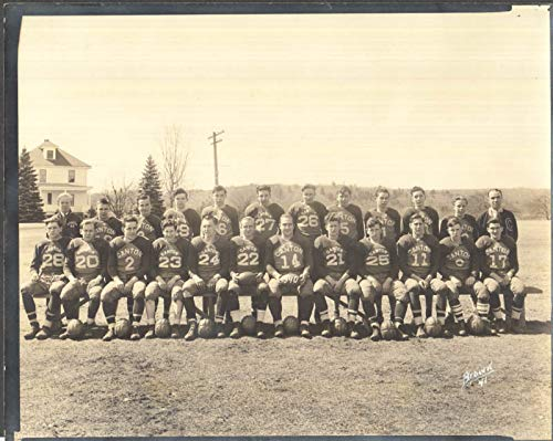 Canton High School Football Team 1940 photo by Brown
