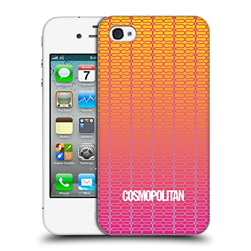 Official Cosmopolitan Ombre 3 Fun Summer Hard Back Case for Apple iPhone 4 / 4S