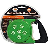 Retractable Dog One-Touch Lock Leash Up to 66 lbs 26' Feet Heavy Duty, Vary Color