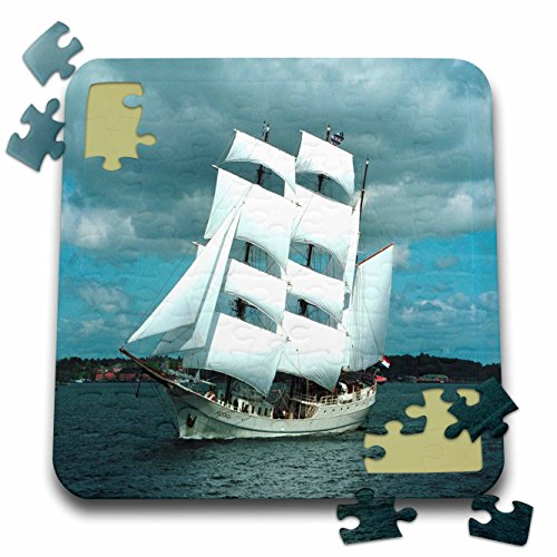 Boat Whaling (Florene Boat - An Old Whaling Ship - 10x10 Inch Puzzle (pzl_80568_2))