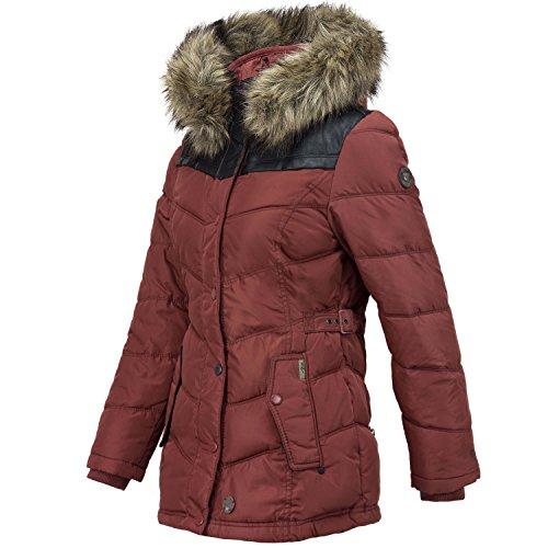 Khujo II Rojo Winsen invierno Chaqueta W de ZSHpwq4Z