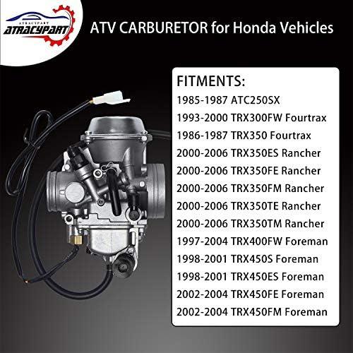 Air Filter Honda FourTrax Foreman TRX400FW TRX450ES S Rancher TRX350TM TE FE FM