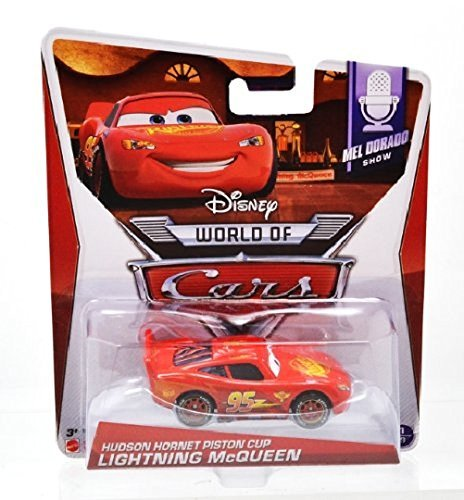 Mcqueen Piston Cup - Disney PIXAR CARS2 WORLD OF CARS HUDSON HORNET PISTON CUP LIGHTNING McQUEEN