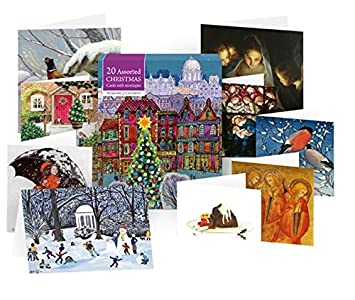 Museums galleries collections christmas cards assorted box amazon museums galleries collections christmas cards assorted box m4hsunfo