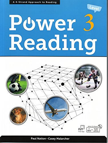 Power Reading 3, A 4-Strand Approach to Reading (Advanced Level w/MP3 Audio CD) (Advanced Reading Power)