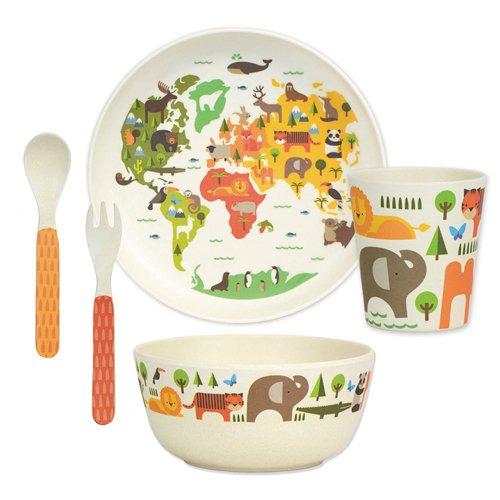 Petit Collage Dinnerware Set, World (2006 New Fork)