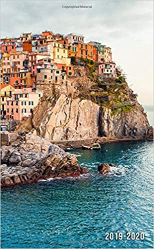 2019-2020: Two-Year Cinque Terre, Italy Monthly Pocket ...