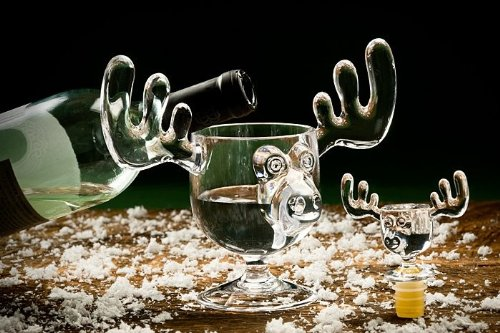 Christmas Moose Mug Wine Bottle Stopper A/&R Collectibles Inc 90487