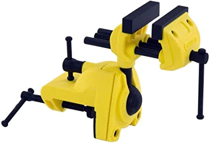 Yellow Mini Vise Holds Odd Shaped Parts Delicately Modeling Sculpting Tools