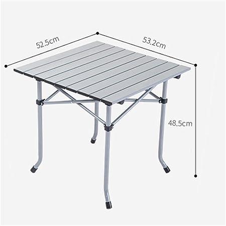 Mesa plegable de camping mesa Mesa de trabajo portátil al aire ...
