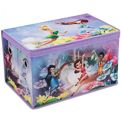 Disney Fairies Toy Box Canvas Aufbewahrungsbox Spielzeugkiste für Kinder NEU