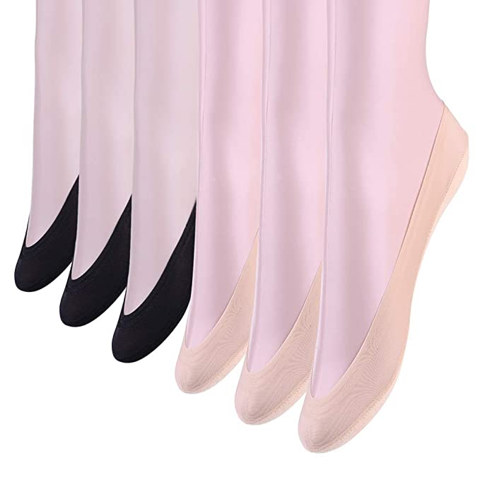 SHEEC SoleHugger Secret 2.0 4 Pairs #1 Ultra No Show Non Slip Women/'s Sock