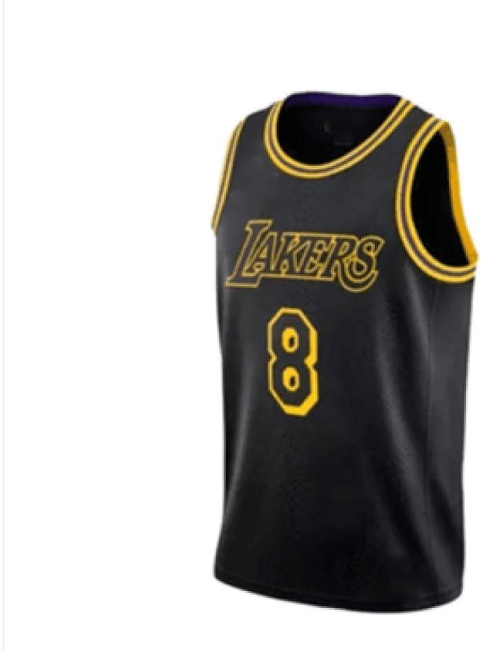 MHDE Lakers 24 Kobe Retro Camiseta De Baloncesto Uniforme De ...