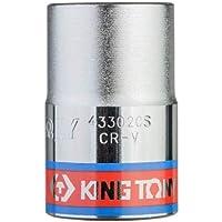 Soquete Estriado 5/8-1/2, KingTony BR, 433020SR