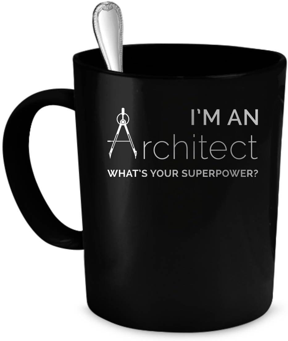 Taza de regalo para arquitecto, diseño de arquitecto
