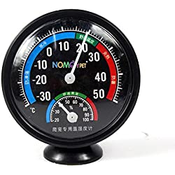 Reptile Thermometer Lizard Testudo Snake Living Environment Terrarium Combined Dial Thermometer and Hygrometer