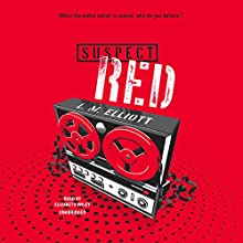 Suspect Red Audiobook by L. M. Elliott Narrated by Elizabeth Wiley