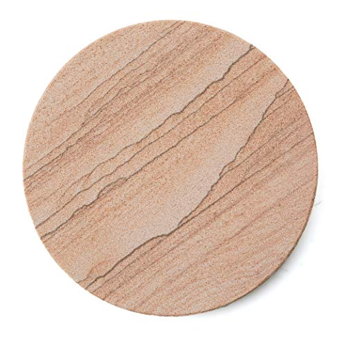 Cinnabar Type - Thirstystone Brand - Desert Sand Coaster, Multicolor All Natural Sandstone - Durable Stone with Varying Patterns, Every Coaster Is An Original