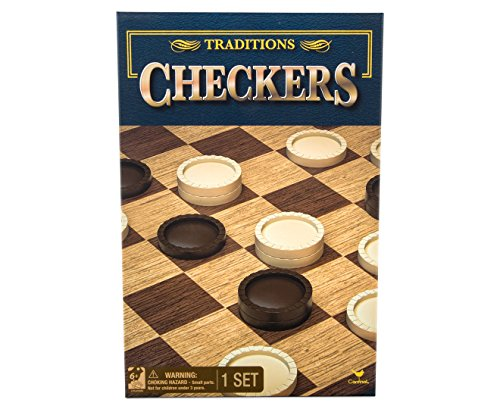 Traditions Checkers Board Game 1 Set