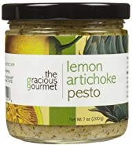 The Gracious Gourmet Lemon Artichoke Pesto-7 oz