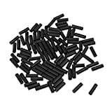 MonkeyJack 100Pcs Bike Bicycle Shift Cable End Caps Shifter Housing Wire Line Pipe Ferrules 4mm